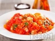 Картофена яхния със скариди